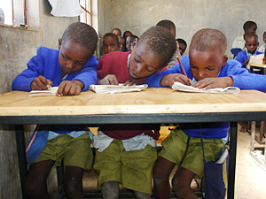 Building a Boys' Boarding School in Kenya